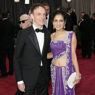 Mychael Danna, Aparna Danna in The 85th Annual Oscars - Red Carpet Arrivals
