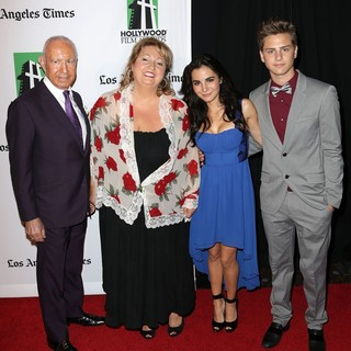 Michelle Danner, Martha Higareda, Garrett Backstrom in 16th Annual Hollywood Film Awards Gala