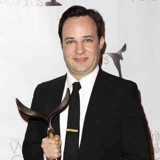 Danny Strong in 2013 Writers Guild Awards - Press Room