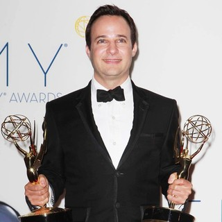 Danny Strong in 64th Annual Primetime Emmy Awards - Press Room
