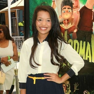 Daphne Blunt in World Premiere of ParaNorman