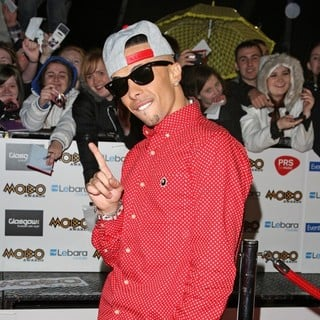 Dappy, N-Dubz in The MOBO Awards 2011 - Arrivals
