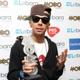 Dappy, N-Dubz in The MOBO Awards 2011 - Press Room