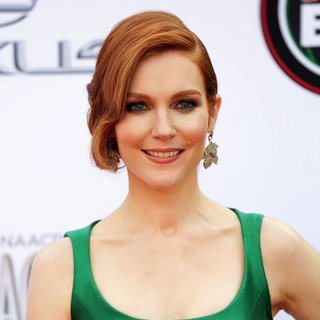 Darby Stanchfield in 45th NAACP Image Awards - Arrivals