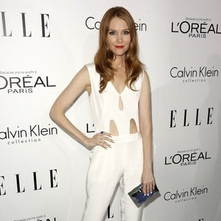 Darby Stanchfield in ELLE 20th Annual Women in Hollywood Celebration