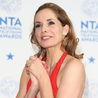 Darcey Bussell in National Television Awards 2013 - Press Room