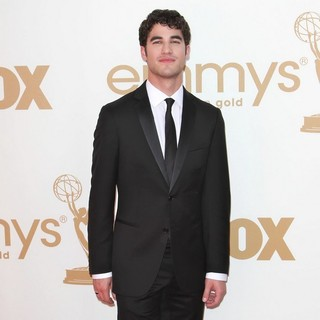 Darren Criss in The 63rd Primetime Emmy Awards - Arrivals