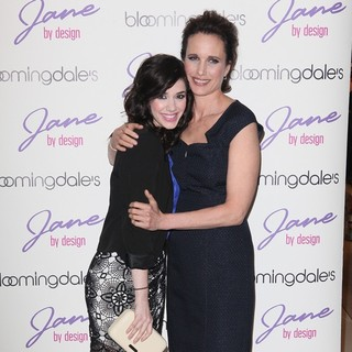Erica Dasher, Andie MacDowell in New York Fashion Week - Bloomingdale's and ABC Family Kick-Off Event
