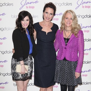 Erica Dasher, Andie MacDowell, Nanette Lepore in New York Fashion Week - Bloomingdale's and ABC Family Kick-Off Event