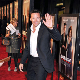 Hugh Jackman in NYC Premiere of 'Date Night'