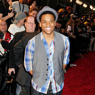 Tristan Wilds in NYC Premiere of 'Date Night'