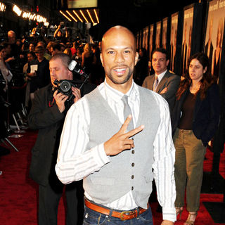 Common in NYC Premiere of 'Date Night'