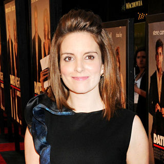 Tina Fey in NYC Premiere of 'Date Night'