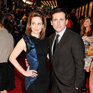 Tina Fey, Steve Carell in NYC Premiere of 'Date Night'