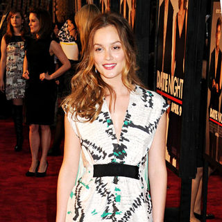 Leighton Meester in NYC Premiere of 'Date Night'