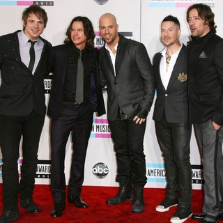 DAUGHTRY in 2011 American Music Awards - Arrivals