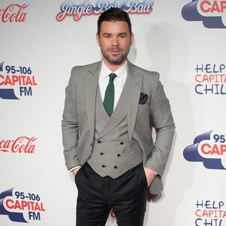 Dave Berry in The Capital FM Jingle Bell Ball 2013 - Day 2 - Arrivals