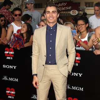 Dave Franco in Premiere of Columbia Pictures' 22 Jump Street