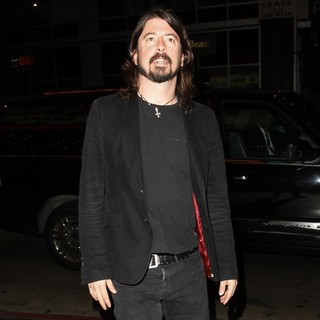 Dave Grohl, Foo Fighters in Dave Grohl Arrives at The Wiltern Theatre to Watch Guns N' Roses in Concert