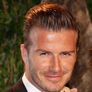 David Beckham in 2012 Vanity Fair Oscar Party - Arrivals