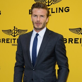 David Beckham in Breitling London Store Launch - Arrivals