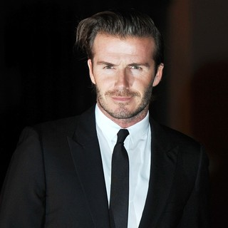 David Beckham in An Evening Celebrating The Global Fund - Arrivals
