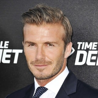 David Beckham in The Time Warner Cable Sports Launch of Time Warner Cable SportsNet and Time Warner Cable Networks