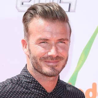 David Beckham in Nickelodeon Kids' Choice Sports Awards 2014