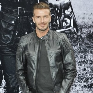 The Belstaff: Off Road-David Beckham Book Signing