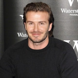 David Beckham in David Beckham Signs Copies of His Book Entitled David Beckham