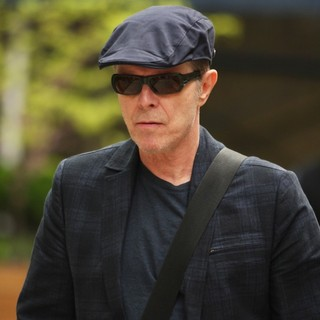 David Bowie in David Bowie Seen Out and About in Manhattan