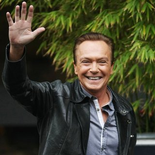 David Cassidy in David Cassidy at The ITV Studios