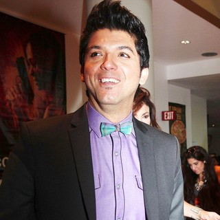 David Chacon in The Colombiana Miami Red Carpet Screening
