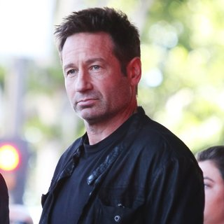 David Duchovny Honored with A Star on The Hollywood Walk of Fame