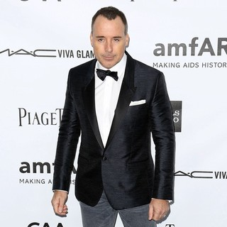 David Furnish in amfAR 3rd Annual Inspiration Gala