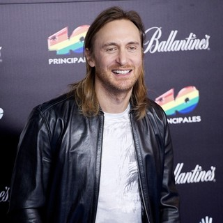 David Guetta in The 2013 40 Principales Awards