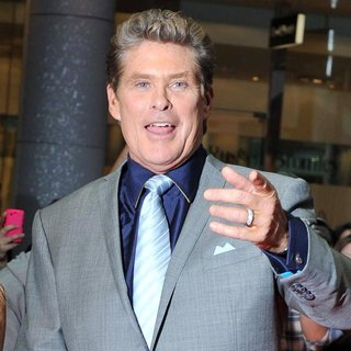 David Hasselhoff in Larry Crowne UK Premiere - Arrivals