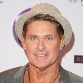 David Hasselhoff in The MTV Europe Music Awards 2011 (EMAs) - Press Room
