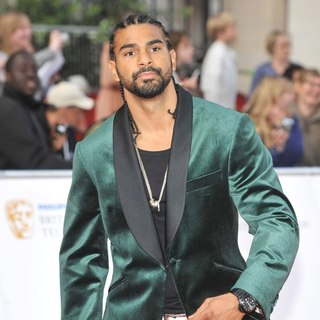 David Haye in Philips British Academy Television Awards in 2011 - Arrivals