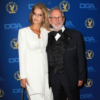Lynn St. David, Norman Jewison in 65th Annual Directors Guild of America Awards - Arrivals