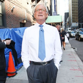 David Letterman in The Late Show with David Letterman - Arrivals