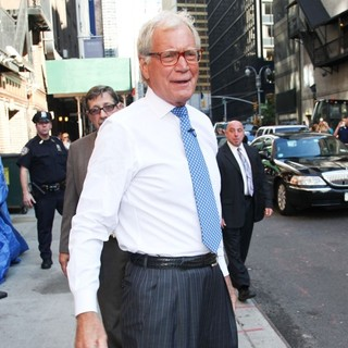 The Late Show with David Letterman - Arrivals