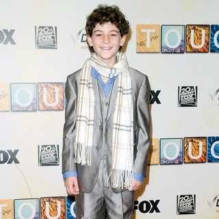 David Mazouz in World Premiere of Touch - Red Carpet