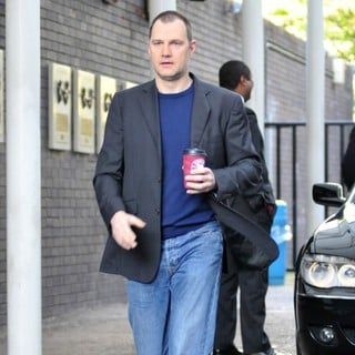 David Morrissey in David Morrissey Leaving GMTV Studios
