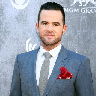 David Nail in 49th Annual Academy of Country Music Awards - Arrivals
