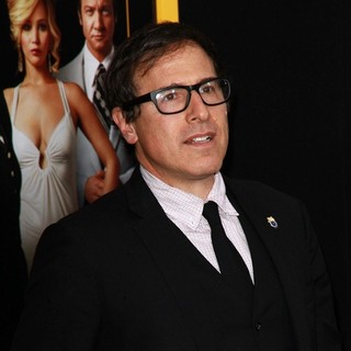 David O. Russell in American Hustle New York Premiere