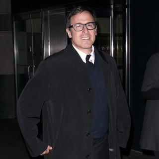 David O. Russell in Screening of Silver Linings Playbook - Arrivals