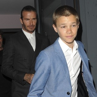 David Beckham - Brooklyn Beckham: What I See Book Launch Party