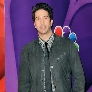 David Schwimmer in 2013 NBC Upfront Presentation - Arrivals