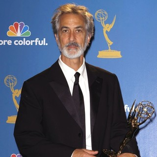 David Strathairn in The 62nd Annual Primetime Emmy Awards - Press Room